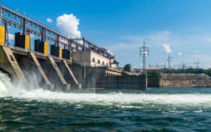 image of a power plant that would use predictive maintenance for hydro power