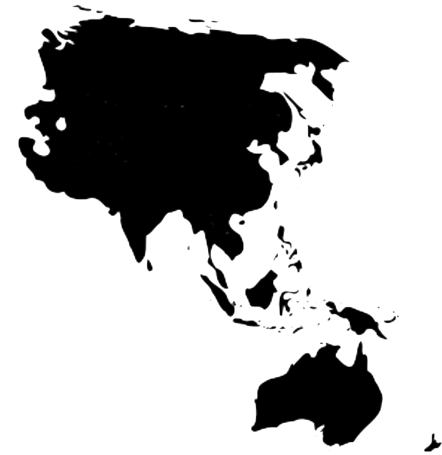 Small map of Asia Pacific.
