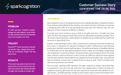 cognite case study offshore production
