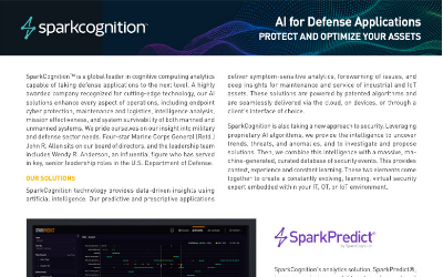AI for Defense Applications Whitepaper