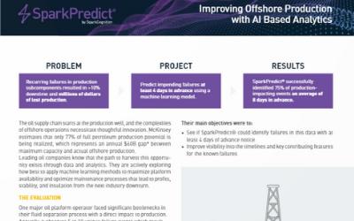 Case Study Offshore Oil Production AI