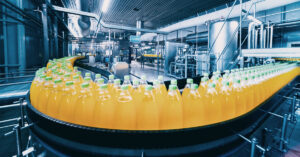 Image of a CPG plant that would use quality control ai solutions