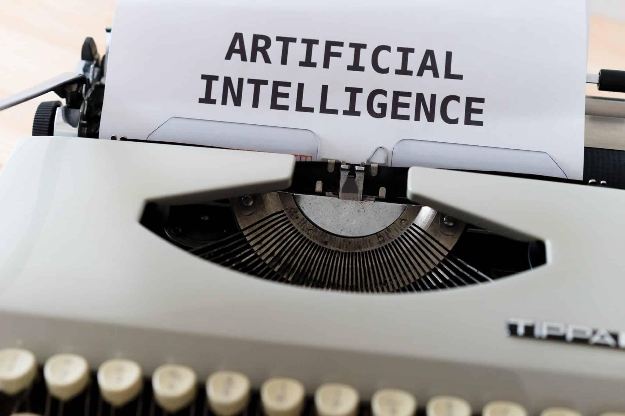artificial intelligence typewriter