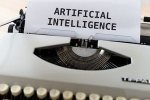 artificial intelligence typerwriter