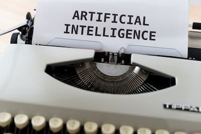 artificial intelligence typerwriter