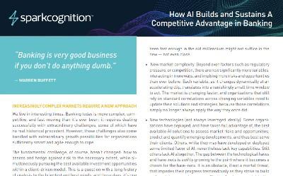 SparkCognition for finance