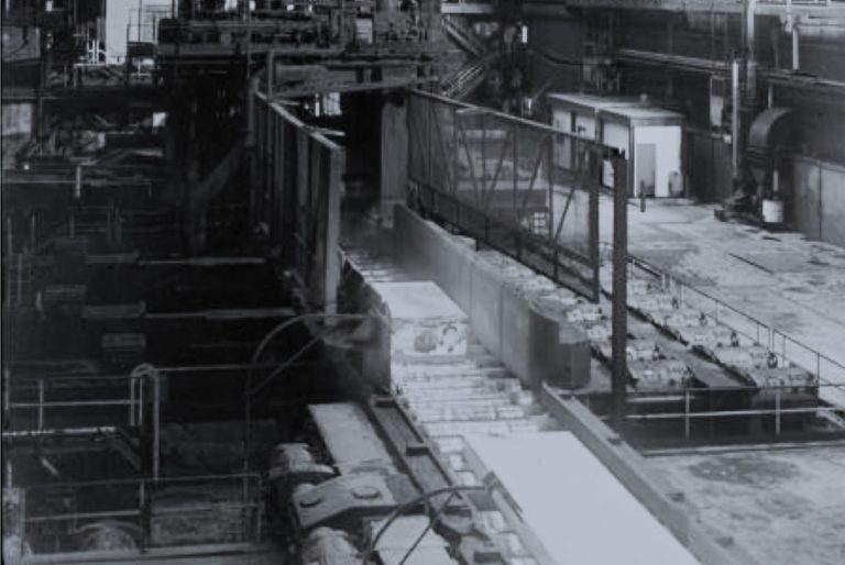 image of iron ore manufacturing plant